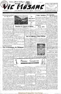 5e annee - n198 - 5 aout 1950