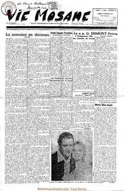 5e annee - n212 - 4 novembre 1950