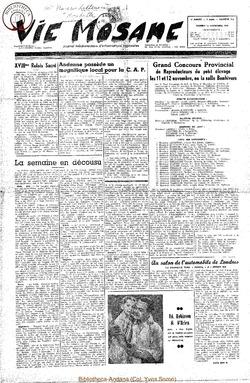 5e annee - n213 - 11 novembre 1950
