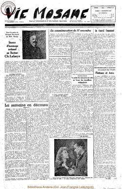 5e annee - n214 - 18 novembre 1950