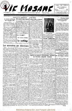 5e annee - n215 - 25 novembre 1950