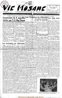 5e annee - n217 - 9 decembre 1950