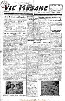 5e annee - n218 - 16 decembre 1950