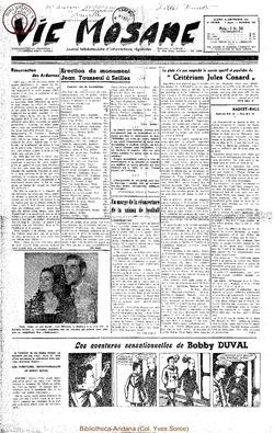 6e annee - n256 - 8 septembre 1951