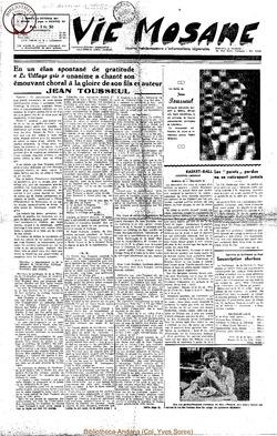 6e annee - n261 - 13 octobre 1951
