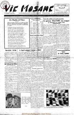 6e annee - n262 - 20 octobre 1951