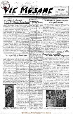 6e annee - n264 - 3 novembre 1951