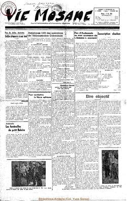6e annee - n265 - 10 novembre 1951