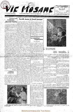 6e annee - n271 - 22 decembre 1951