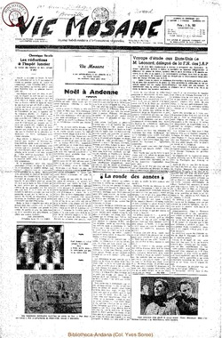 6e annee - n272 - 29 decembre 1951