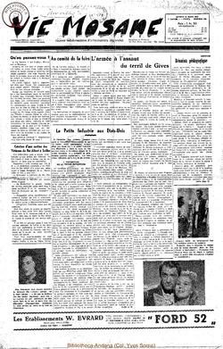 7e annee - n285 - 29 mars 1952