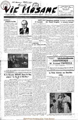 7e annee - n289 - 26 avril 1952