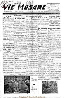 7e annee - n291 - 10 mai 1952
