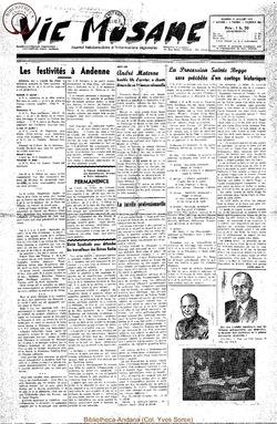 7e annee - n300 - 12 juillet 1952