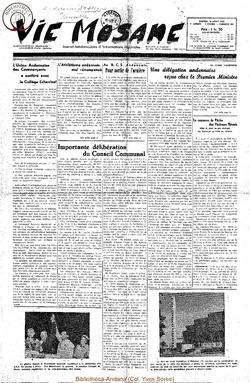 7e annee - n304 - 16 aout 1952