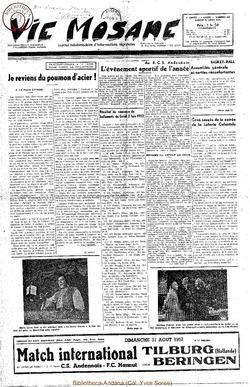 7e annee - n306 - 30 aout 1952
