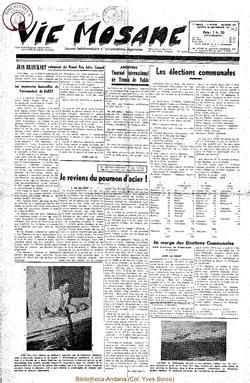 7e annee - n309 - 20 septembre 1952