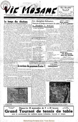 7e annee - n310 - 27 septembre 1952