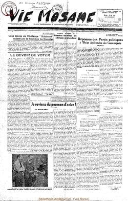 7e annee - n311 - 3 octobre 1952