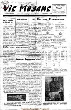 7e annee - n312 - 11 octobre 1952