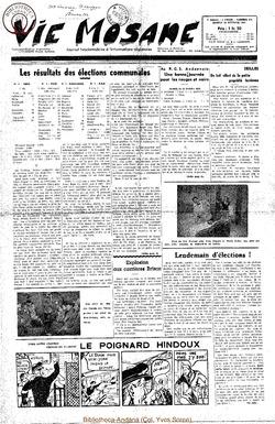 7e annee - n313 - 18 octobre 1952