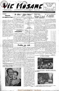 7e annee - n314 - 25 octobre 1952