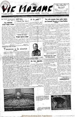 7e annee - n316 - 8 novembre 1952