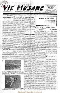 7e annee - n319 - 29 novembre 1952