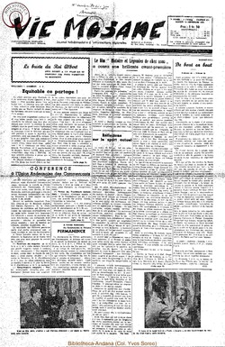 7e annee - n321 - 13 decembre 1952