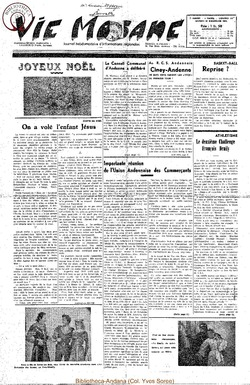 7e annee - n322 - 20 decembre 1952
