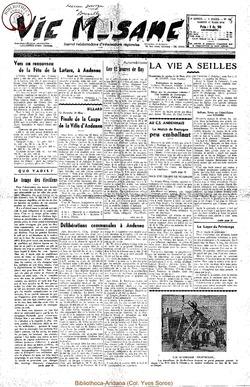9e annee - n387 - 27 mars 1954