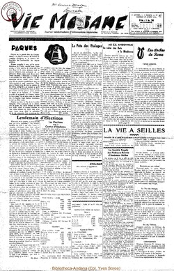 9e annee - n390 - 17 avril 1954