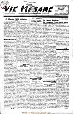 9e annee - n392 - 1 mai 1954
