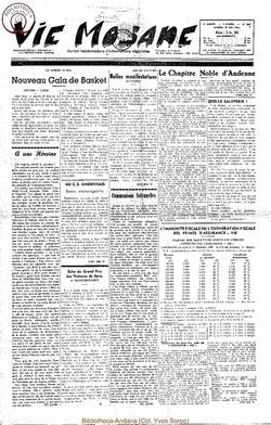 9e annee - n396 - 29 mai 1954