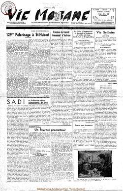 9e annee - n397 - 5 juin 1954
