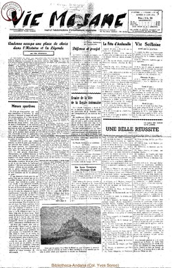 9e annee - n399 - 19 juin 1954