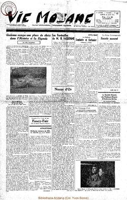 9e annee - n400 - 26 juin 1954