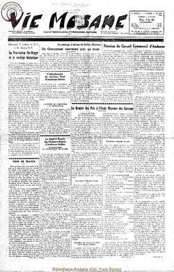 9e annee - n401 - 3 juillet 1954