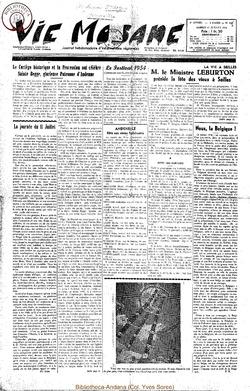 9e annee - n403 - 17 juillet 1954