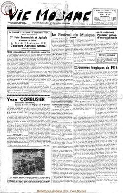 9e annee - n407 - 14 aout 1954
