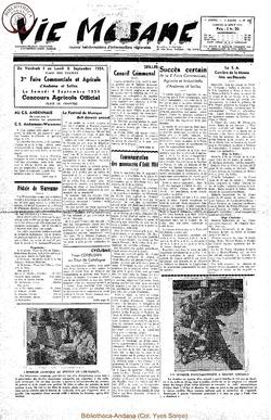 9e annee - n408 - 28 aout 1954