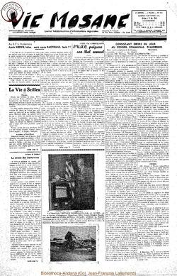 9e annee - n414 - 9 octobre 1954