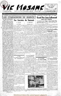 9e annee - n419 - 13 novembre 1954