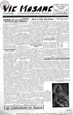 9e annee - n420 - 20 novembre 1954