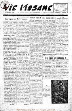 9e annee - n421 - 27 novembre 1954