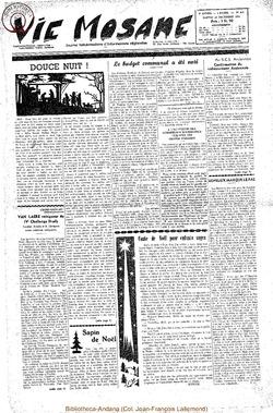 9e annee - n425 -25 decembre 1954