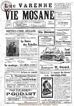 Publicitaire Octobre 1949