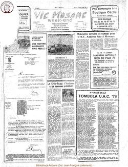 34e année - n°1 - 5 janvier 1979 - âbimé