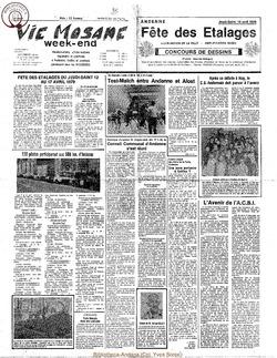 34e année - n°14 - 6 avril 1979