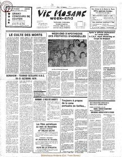 34e année - n°39 - 26 octobre 1979